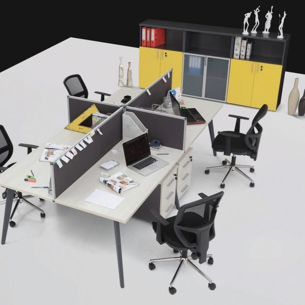 İron Workstation Çoklu Çalışma Masası