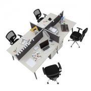 İron Workstation Çoklu Çalışma Masası 1
